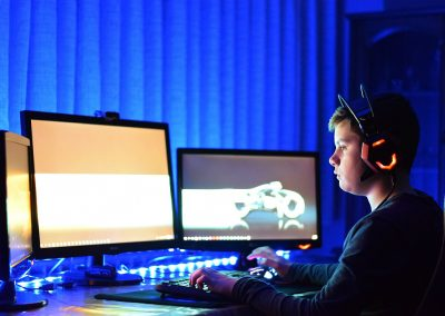 gaming headset monitors pc