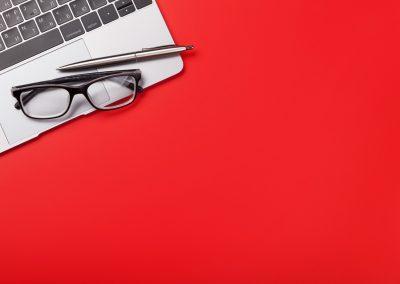 pen glasses computer