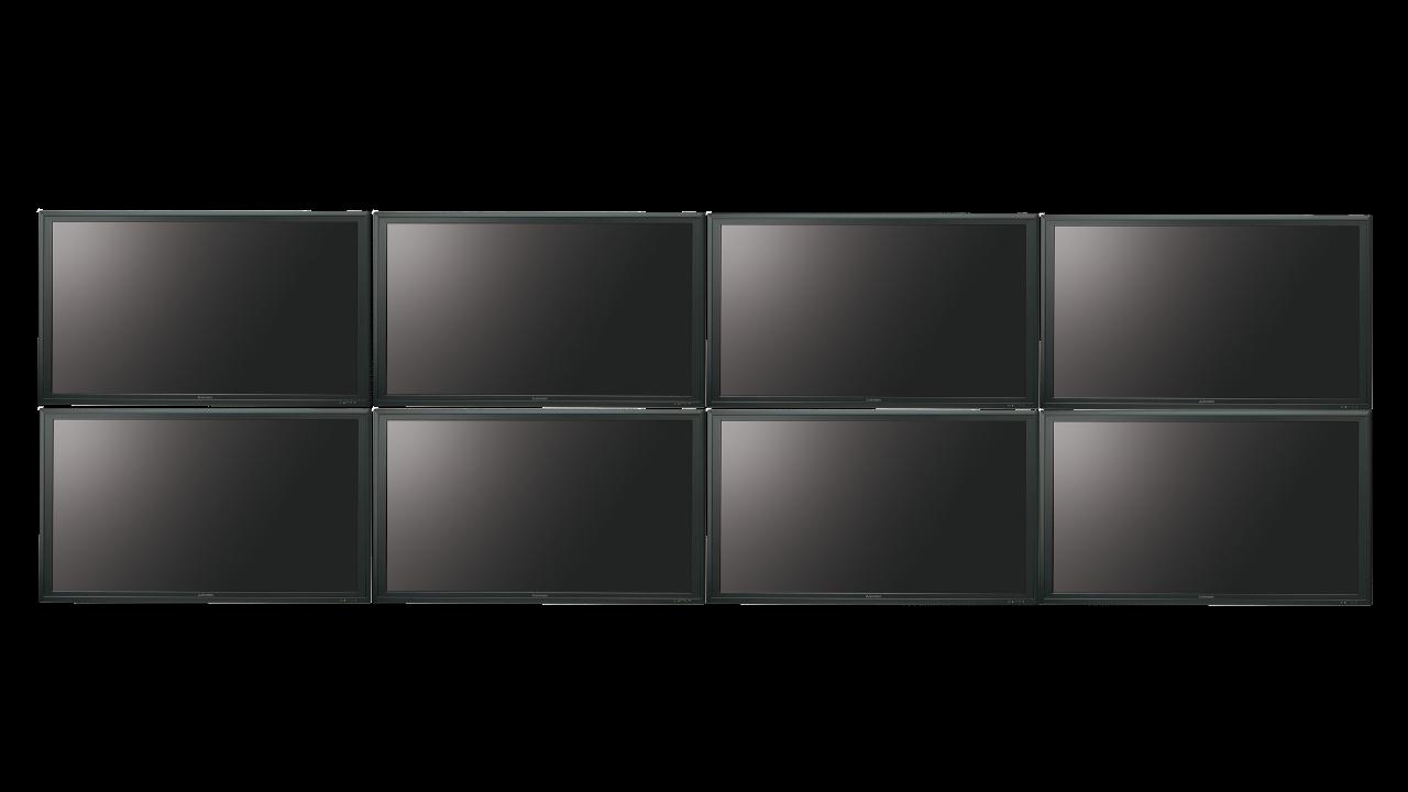 8 Screen PCs